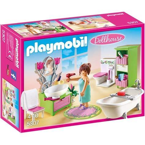 Playmobil Salle De Bain by Playmobil 5307 Salle De Bains Et Baignoire Achat Vente