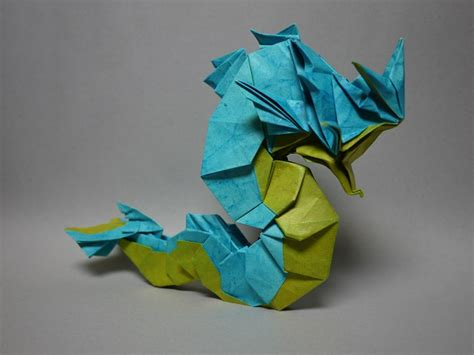 How To Make An Origami Squirtle - origami gotta fold em all
