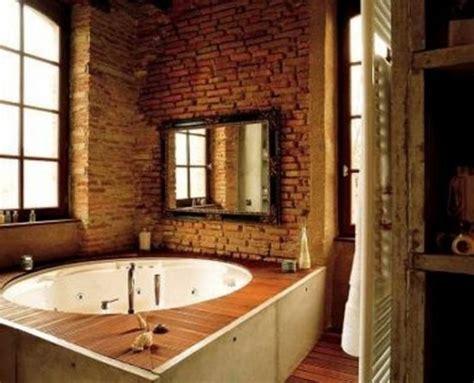 brick bathroom wall 20 dashingly contemporary bathroom designs with exposed brick walls rilane