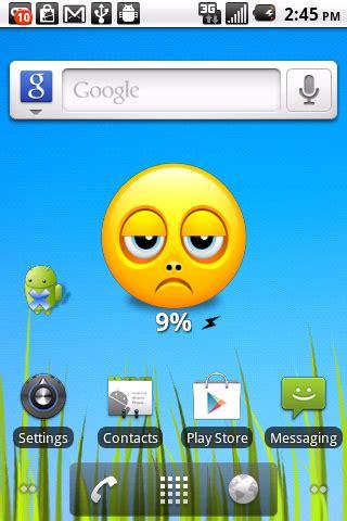 free smiley battery widget volume 1 apk download for