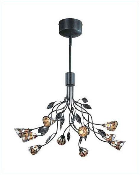 tiffany ls for sale lite source 10 lite ceiling l dark with rust tiffany