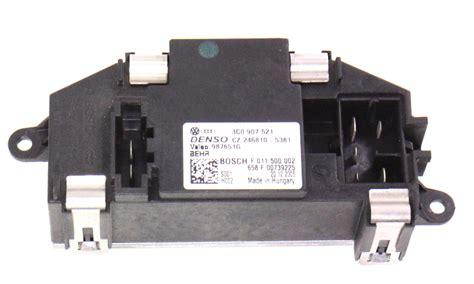 blower motor resistor vw passat blower motor hvac fan resistor 06 10 vw passat b6 3c0 907 521 carparts4sale inc