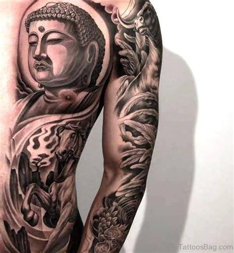 half chest tattoo 54 dazzling buddha on chest