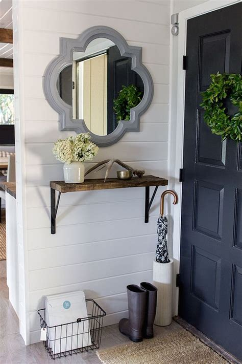 Entryway Idea by It S A Grandville Life Narrow Front Entryway Ideas