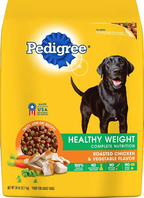 is pedigree a food pedigree healthy weight complete nutrition roasted chicken vegetable flavor