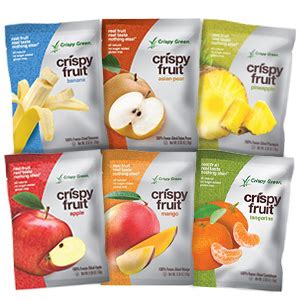 Crispy Green Freeze Dried Fruit The Creative Kitchen Product Review Crispy Green Freeze