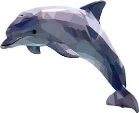 Sea Turtle Home Decor by Polygonal Geometric Animal Dolphin By Camilla Dahl