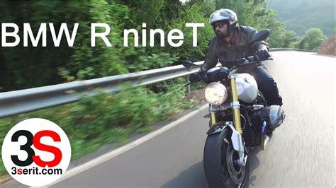bmw  ninet motosiklet test suerues izlenimi youtube
