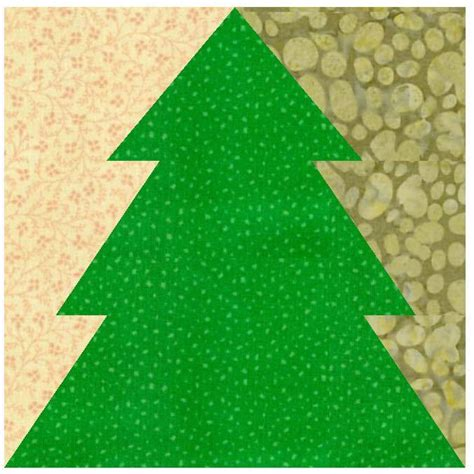 christmas tree paper pieced by linleys designs craftsy