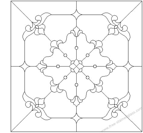 suncatcher coloring page suncatcher pattern free stained glass