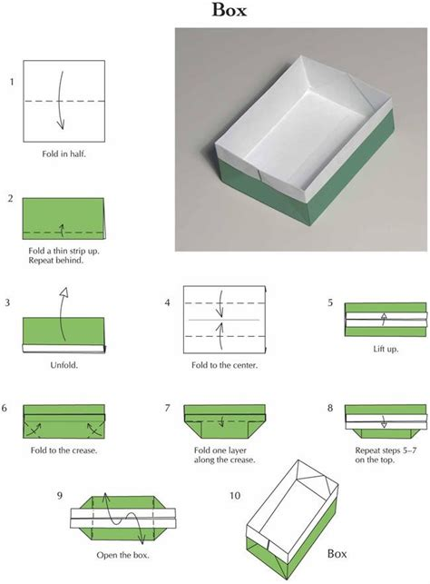 how to fold a paper box with a4 paper a4 origami box comot