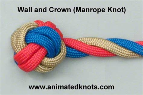 How To Tie Decorative Knots by Two Strand Wall Knot Studio Design Gallery Best Design