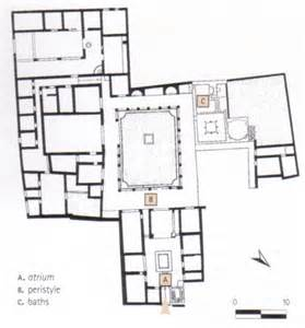 house of the tragic poet floor plan vico private buildings
