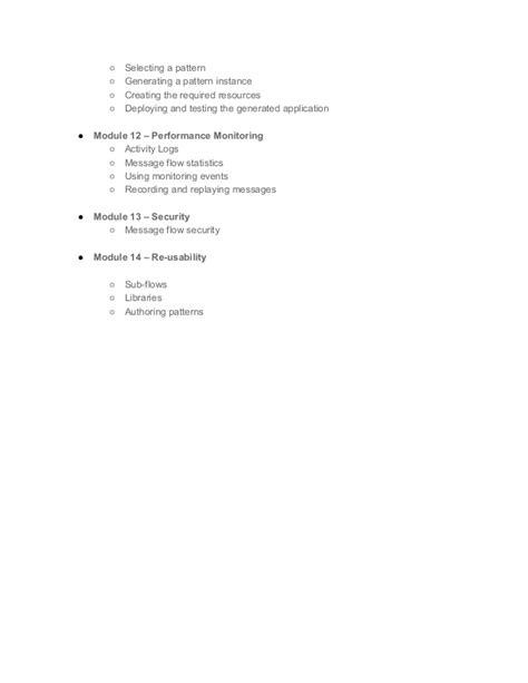xsl pattern syntax error iib development online training