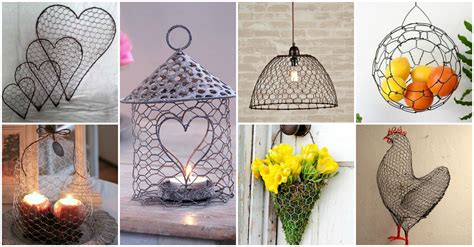 diy projects for craft 13 spectacular diy chicken wire craft ideas diy cozy home