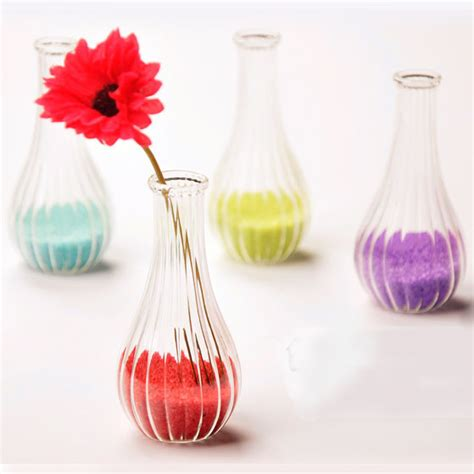 Miniature Glass Flower Vases by Creative Streaks Glass Vases For Flower Arrangments Mini