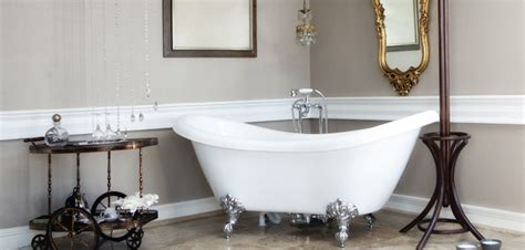 salle de bain baignoire sur pied solutions pour la