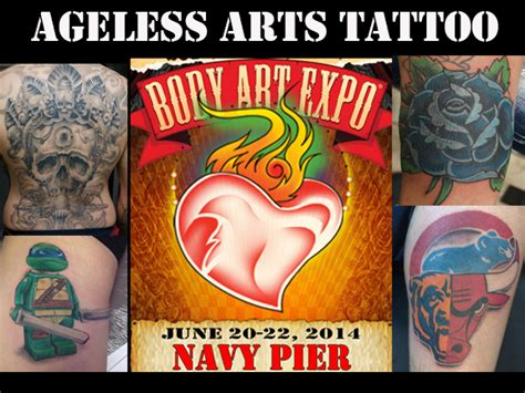 ageless arts tattoo ageless arts will be at the chicago expo