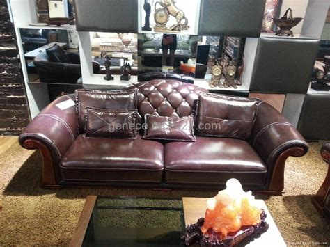 high quality leather sofa classical leather sofa chaise high quality hotel reception