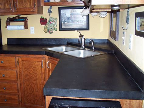 different types of countertops types of kitchen
