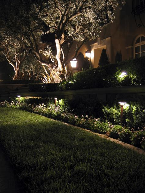 Landscape Lighting Ideas Trees Electric Landscape Lights Newsonair Org