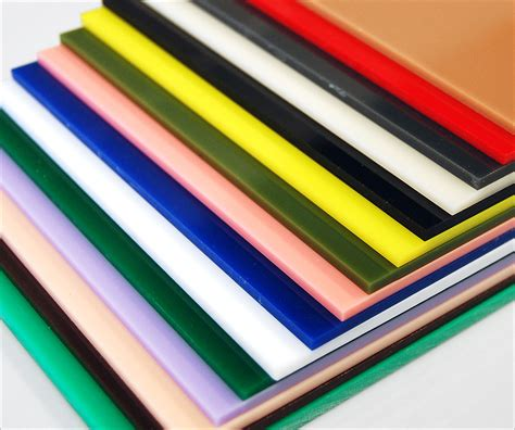 colors for plastics translucent and opaque colored cast acrylic chemcast cut