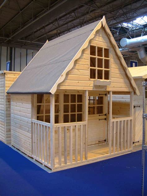 Who Played In House by Wooden Playhouse Play House Wendyhouse Wendy House 8x8 2 Storey Swiss Chalet Ebay