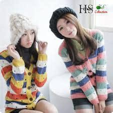 Baju Rajut Keren 45 trend baju rajut korea modis model sekarang 2019