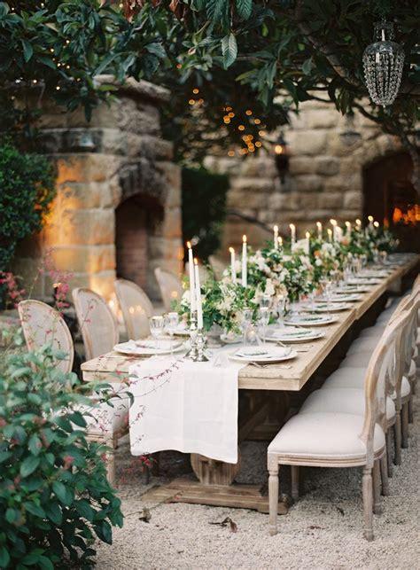 rustic backyard wedding reception ideas rustic chic wedding theme