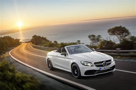 mercedes convertible sun sational 2017 mercedes amg c63 convertible