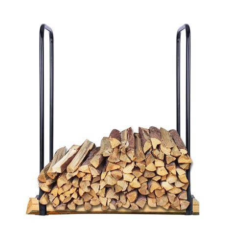 Metal Firewood Rack by Adjustable In Outdoor Heavy Duty Steel Firewood Log Rack Wood Storage Holder Ebay