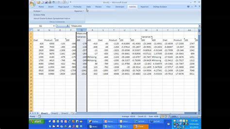 oracle tutorial exles august 2010 essbase excel add in spreadsheet reporting