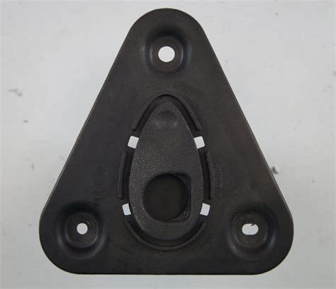 chevy corvette  targa top storage bracket base plate