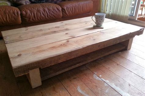 oak sleeper furniture coffee table