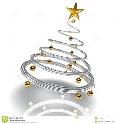moderner weihnachtsbaum stockfotografie bild 7171632