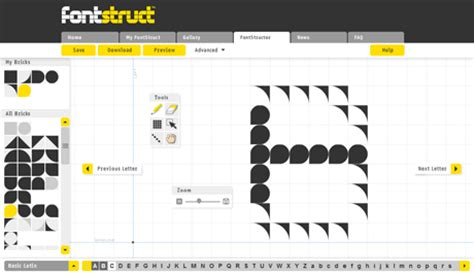 free online font design tool design your own fonts online with fontstruct font builder