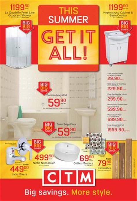 ctm bathroom sets specials issuu ctm catalogue valid until sept 30 by broshuri