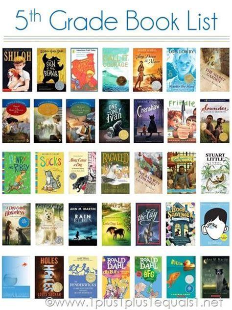 5th grade picture books 5th grade book list a visual reading list for