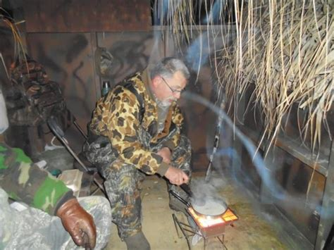 duck boat heater bob hodge jefferson county duck blind a comfortable