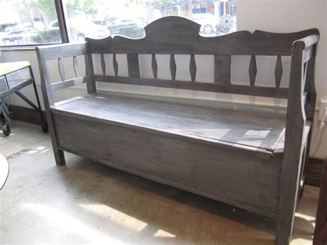 vintage storage bench antique bench with storage vintage storage bench
