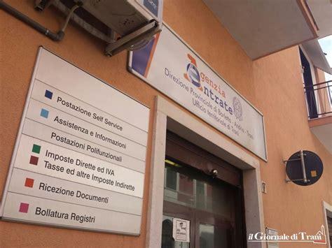 uffici territoriali agenzia entrate l ufficio delle entrate getta di nuovo l ancora a trani