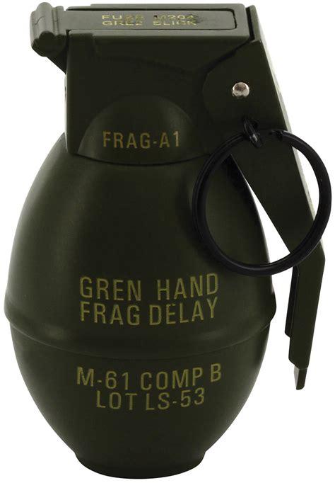 """""""Frag Grenade"""" Deluxe Refillable Butane Lighter   Princess"""