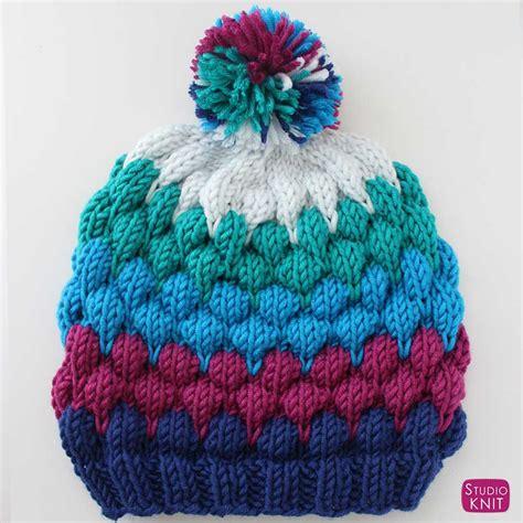 knitting beanie beanie hat knitting pattern with tutorial