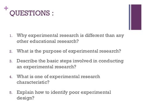 design experiments in educational research experimental research presentation