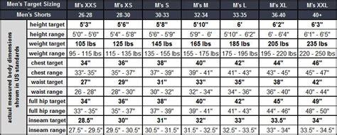 average width sizing guide bluesmiths
