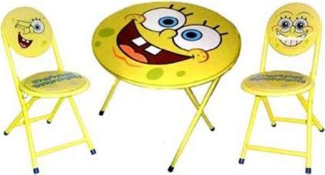 spongebob activity table and chair set image gallery spongebob table
