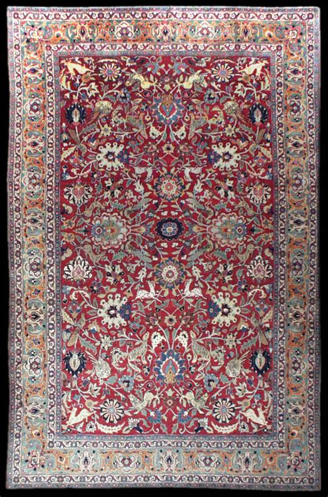 Tabriz Rug Antique Tabriz Carpet