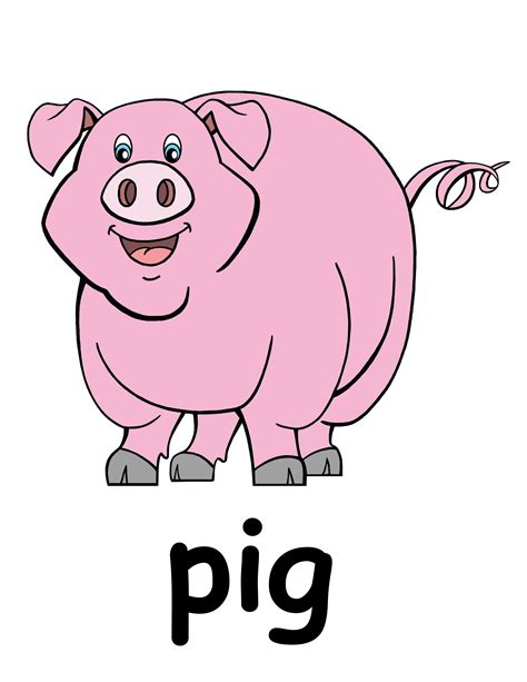 clipart pig cartoon pigs pictures clipart best