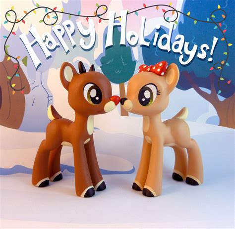 Busy Book Rudolph By Fivairrie rudolph and clarice by krowzivitch on deviantart