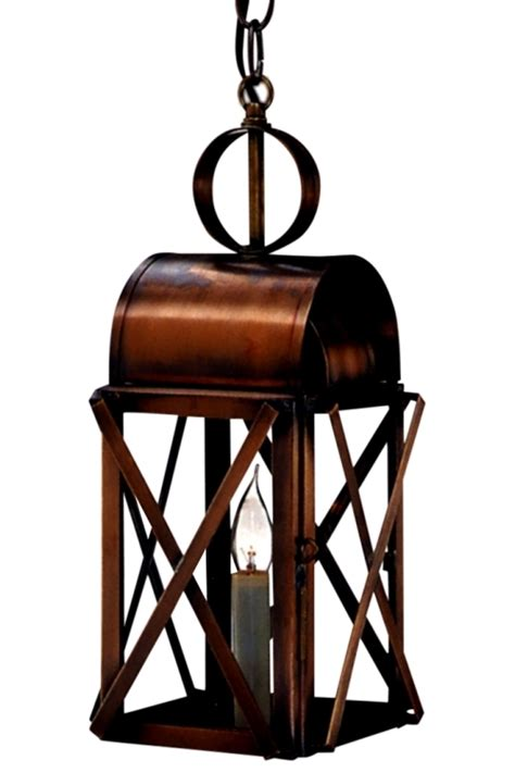 copper lantern pendant light bunker hill copper lantern hanging pendant light for sale